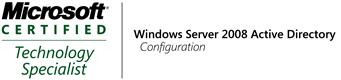 70-640 MCTS: Windows Server 2008 Active Directory Configuration